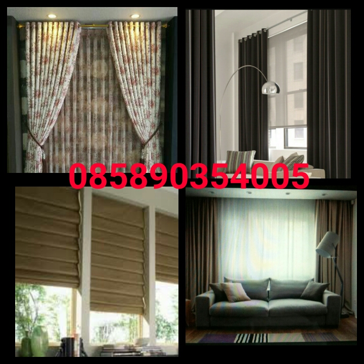 jual gorden, roller blind, vertical blind, wallpaper, accesories
